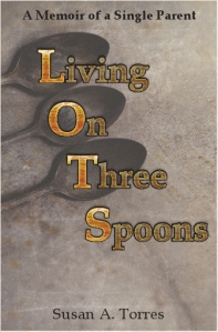 Living on Three Spoons book cover