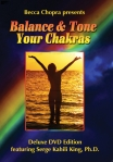Streaming video of Balance & Tone Your Chakras is included in this special giveaway.